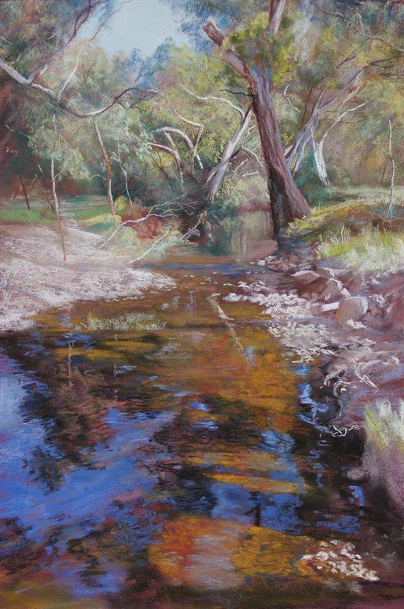 Dabyminga Creek by Lynda Robinsonx