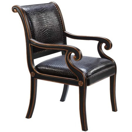 I pinned this Maria Accent Chair from the Devonshire Interiors event at Joss and Main!