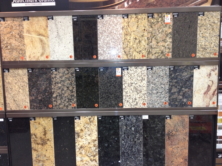 Granite: An overview of color palette for granite.