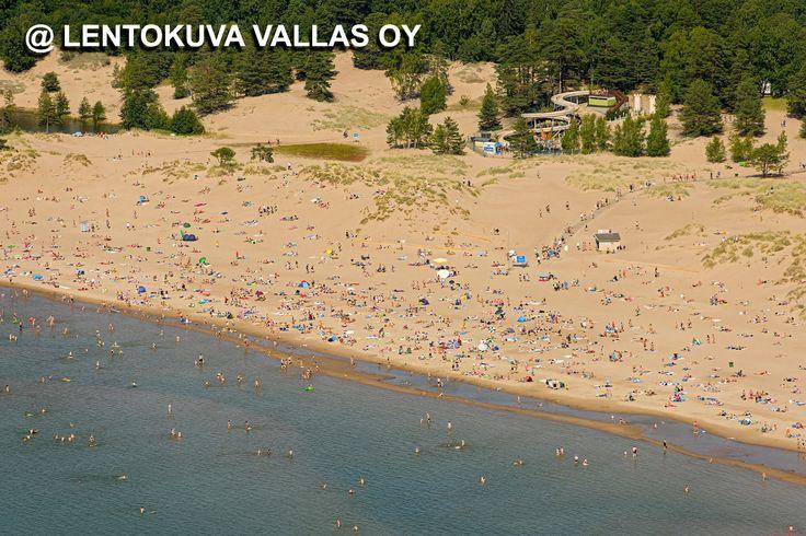 Pori, Yyterin hiekkaranta Ilmakuva: Lentokuva Vallas Oy
