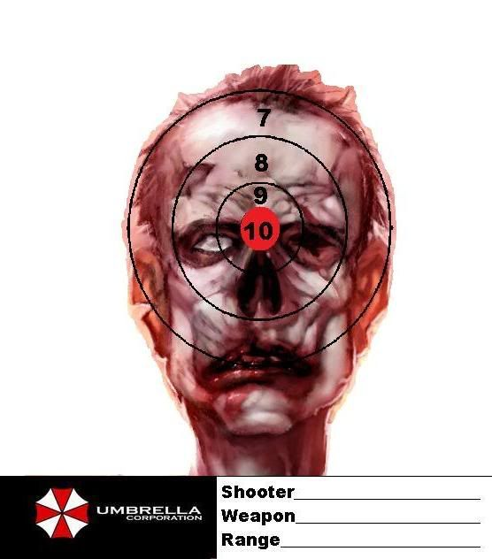 zombie targets