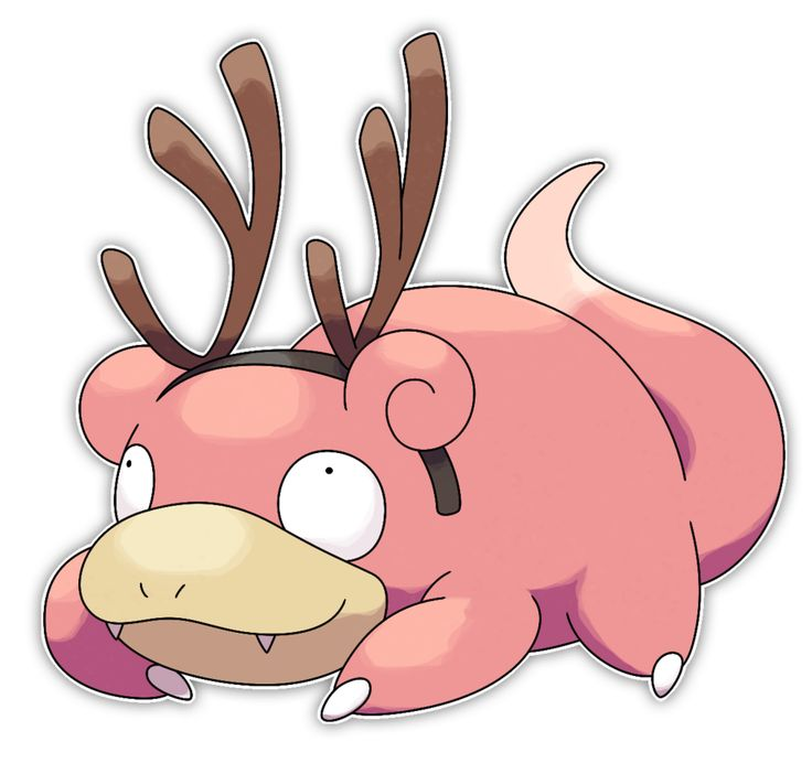 Slowpoke - Commission by Smiley-Fakemon