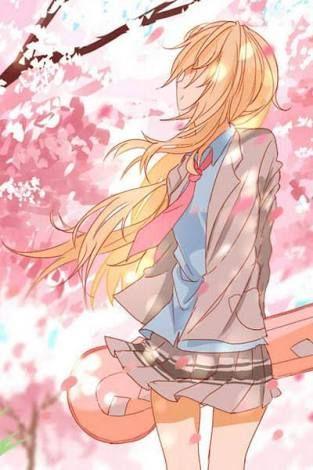Resultado de imagen para cherry blossom your lie in april