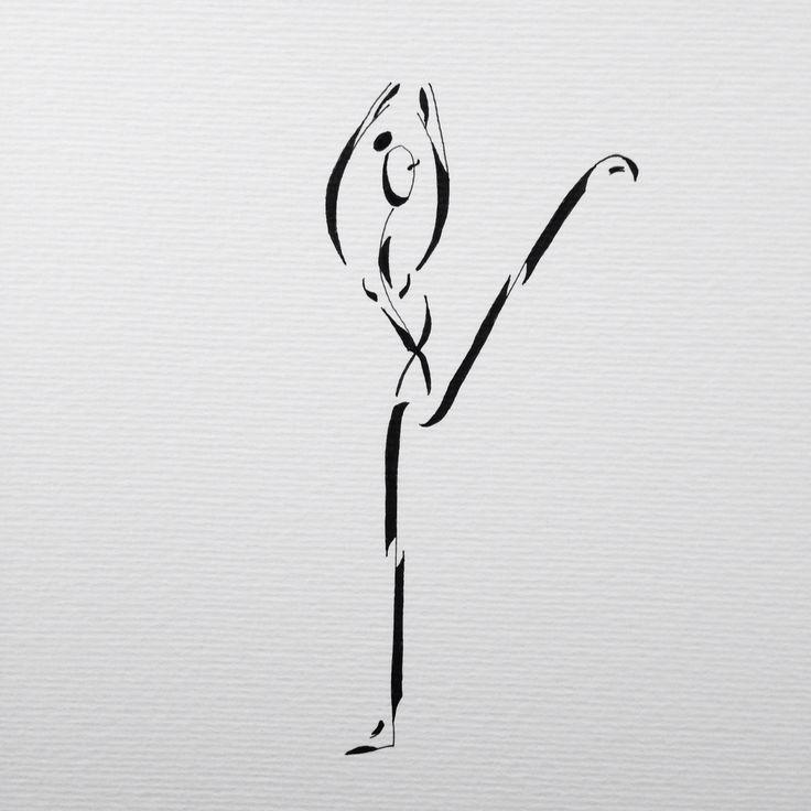 """""""Pure"""" la première d une longue série  #lesballetgirls #alexandrinecomte #danseclassique #peinture #supernanas #couleurs #femmes"""