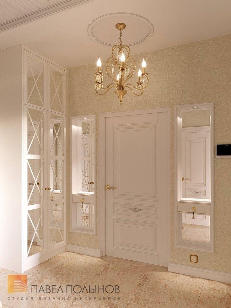 Фото прихожая из проекта «Дизайн трехкомнатной квартиры в классическом стиле, ЖК Аристократ, 78 кв.м.»