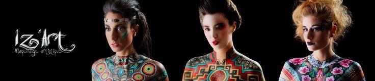 Photo | Louis Jezsik Maquillage artistique | Izabel Provost / Iz'Art Maquillage Artistique Maquillage beauté | Pamela Warden Modèles | Anne-Marie Saheb, Yelena, HannMarry Quauté Retouche photo | Mariev Rodrig