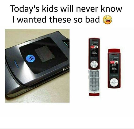 Today's kids will never know how much I wanted those