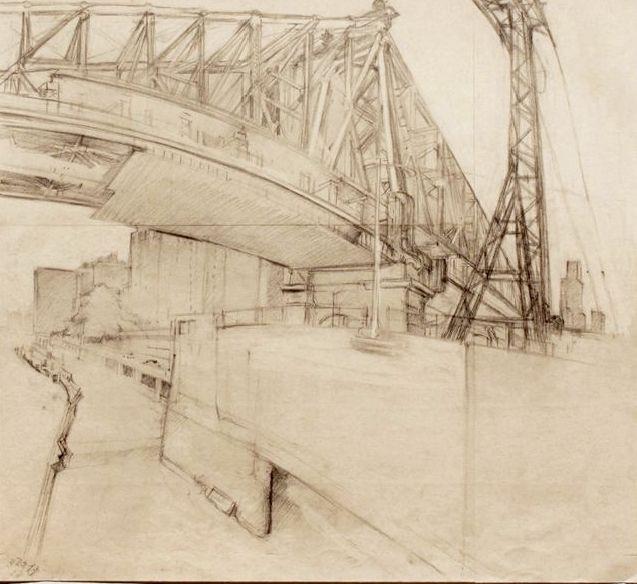 Rackstraw Downes / drawing