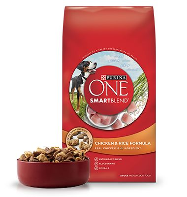 Feeding Instructions - Chicken and Rice - Dry Dog Food - Purina ONE® SMARTBLEND®