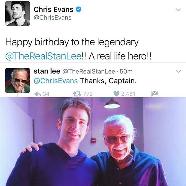 #ChrisEvans #StanLee