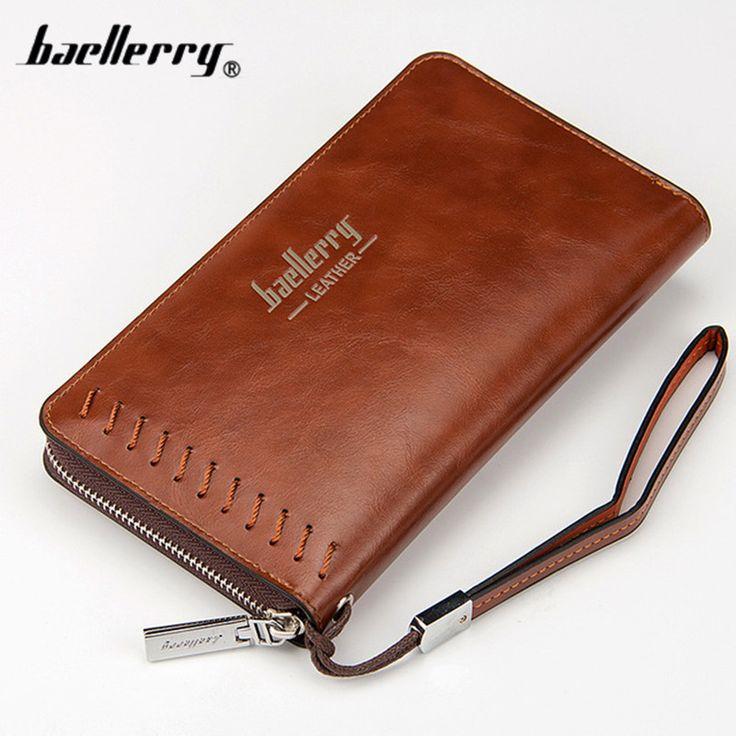 $7.99 (Buy here: https://alitems.com/g/1e8d114494ebda23ff8b16525dc3e8/?i=5&ulp=https%3A%2F%2Fwww.aliexpress.com%2Fitem%2FBaellerry-2017-New-men-wallets-Casual-wallet-men-purse-Clutch-bag-Brand-leather-wallet-long-design%2F32777968455.html ) Baellerry 2017 New men wallets Casual wallet men purse Clutch bag Brand leather wallet long design men bag gift for men for just $7.99