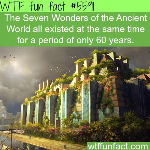 The Seven Wonders of the Ancient World - WTF fun facts