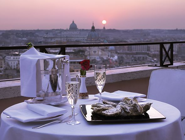 At Home in Rome: Where to Stay & Eat