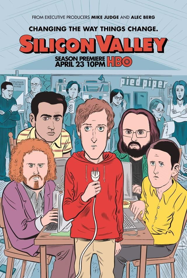 <em>Silicon Valley</em> Season 4 Poster