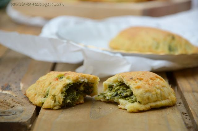 Patricia bakes: Pierogi ze szpinakiem i serem feta