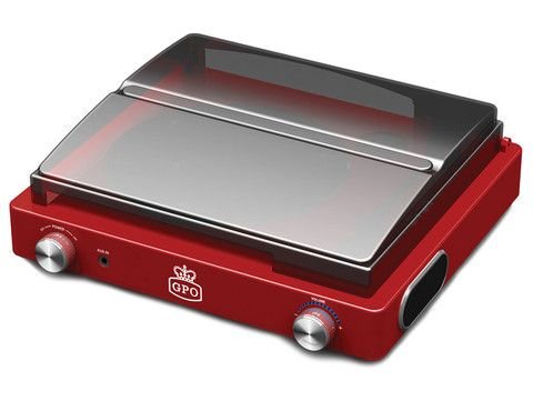 GPO Vinyl Record Player - Red