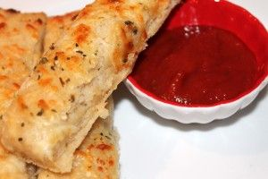 Cheesy Bread Sticks like Pizza Hut (made with whole wheat, too!)