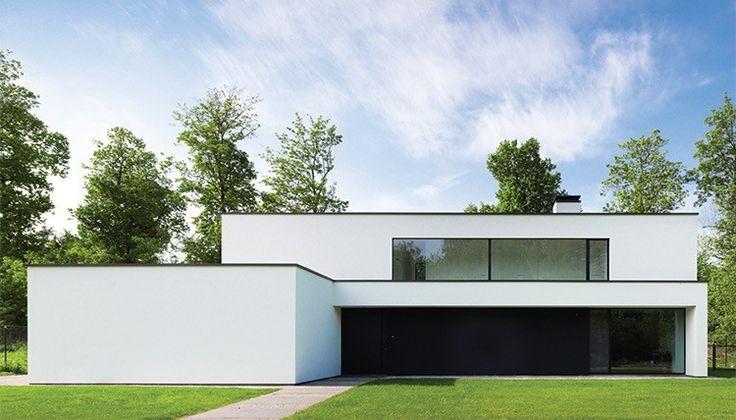 Nieuwbouwwoning met tijdloze en rustgevende architectuur  door ABSBouwteam | http://www.absbouwteam.be/een-selectie-realisaties/De-perfecte-start | Beeld 2