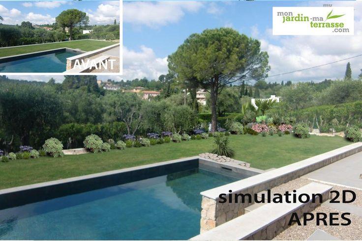 205 best jardin images on pinterest landscaping blog for Monjardin materrasse