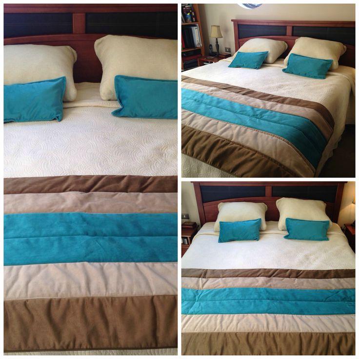 Modelo 16 - Piecera Terciopelo 2 plaza / Contacto: pigmentostore@gmail.com