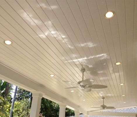 Patio Cover Ceiling