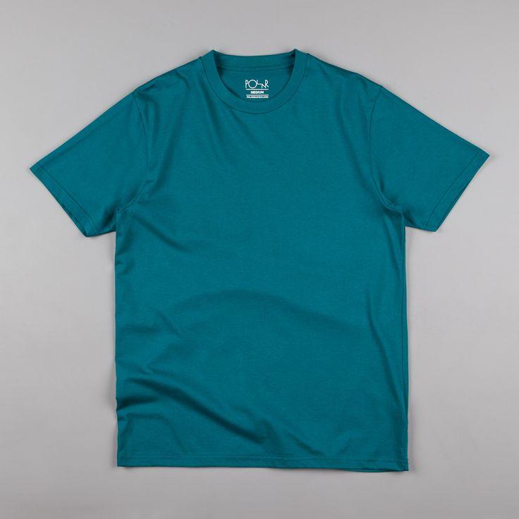 Polar Stroke Logo T-Shirt - Teal