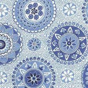 Blue and white photos - geometric prints - Blue and white napkins.jpg
