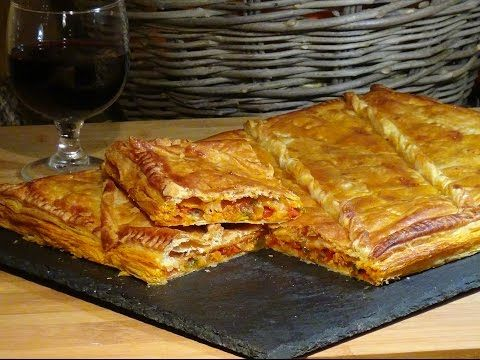 Receta Empanada gallega de bonito en aceite - Recetas de cocina, paso a paso, tutorial - YouTube