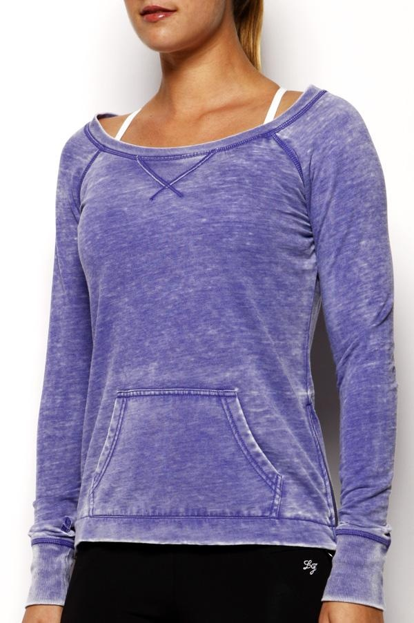 Zippit L/S Sweat - love the zips on the side - my current fave