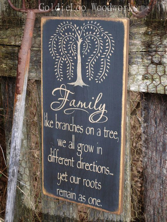 "www.limedeco.gr "" Familly like branches on a tree, we all grow in different derections ... yet our roots remain as one . """
