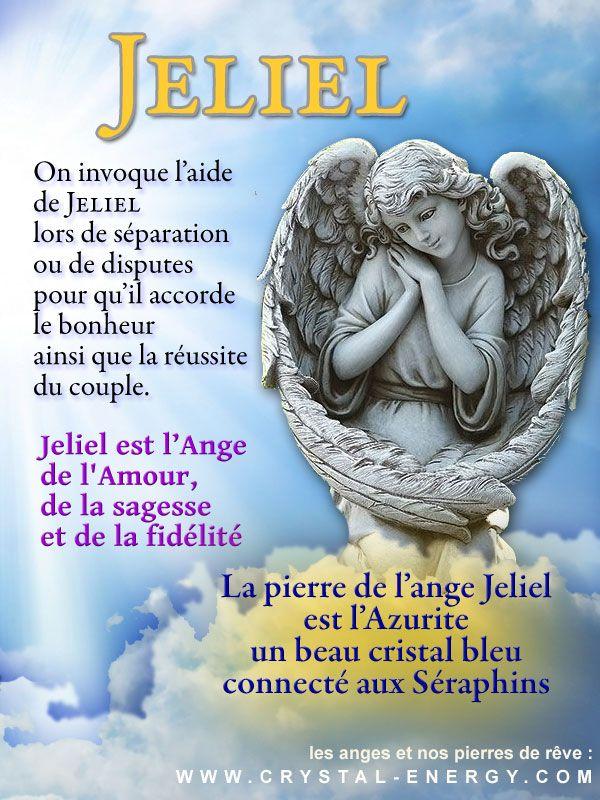 Jeliel est l'ange de l'amour et du bonheur dans le couple