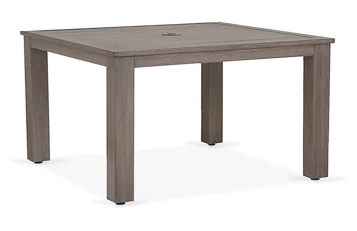Laguna Square Dining Table - Driftwood - Sunset West