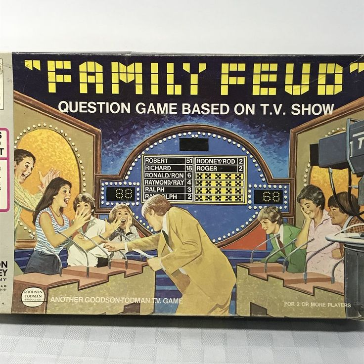 Best  Family Feud Board Game Ideas On   Family Feud