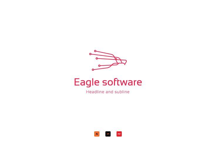 Eagle software logo by anton.akhmatov on @creativemarket