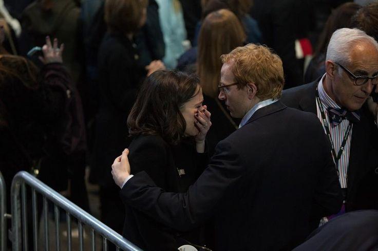 Tristeza e decepção no evento da campanha de Hillary Clinton   VICE   Brasil