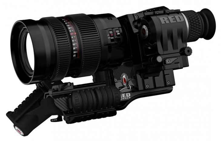 Matt Tremblay Keyshot Render... RED Camera
