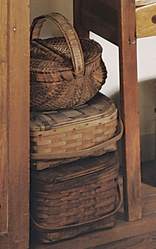 Country Sampler's 30 Icons of Country Style: Baskets
