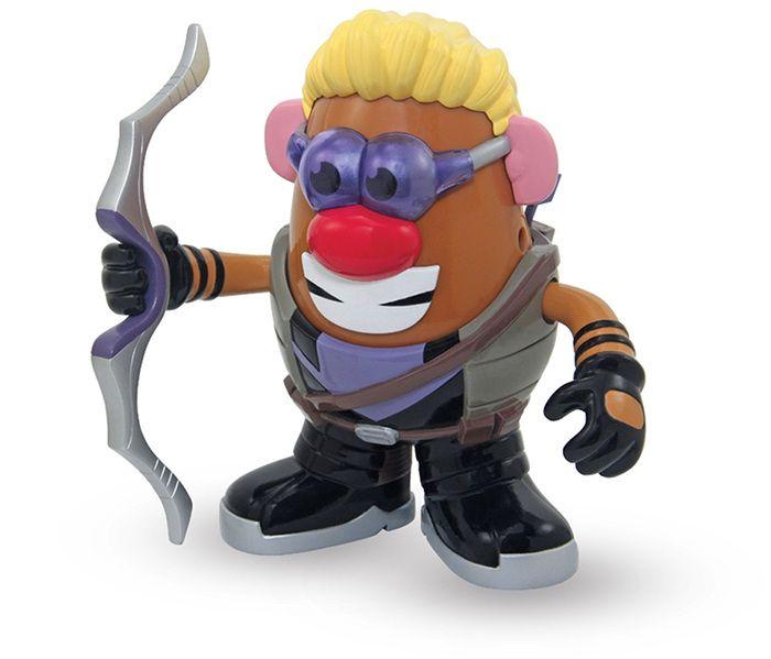 Mr Patate Oeil de Faucon Marvel. Envie de garnir votre collection de Mr Patate ? Découvrez vite ce modèle en édition collector !    #mrpatate #hawkeye #oeildefaucon #marvel #collector #figurine #jouet