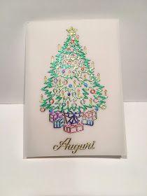 Finalmente pubblico qualche nuova card di Natale...Vi aspetto ai mercatini per vederle dal vivo ed ordinare le Card personalizzate!      1 )...