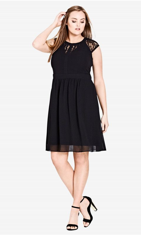 3938cfbf3e Dark Romance Fit   Flare Dress - Black in 2018