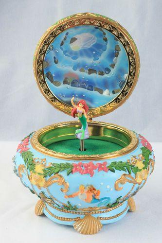 WANT! WANT! Wait- nay, NEED! NEED! MIIIIIIIIIINNE!!!!!!!!! RARE Disney The Little Mermaid Music Jewelry Trinket Box Princess Ariel | eBay