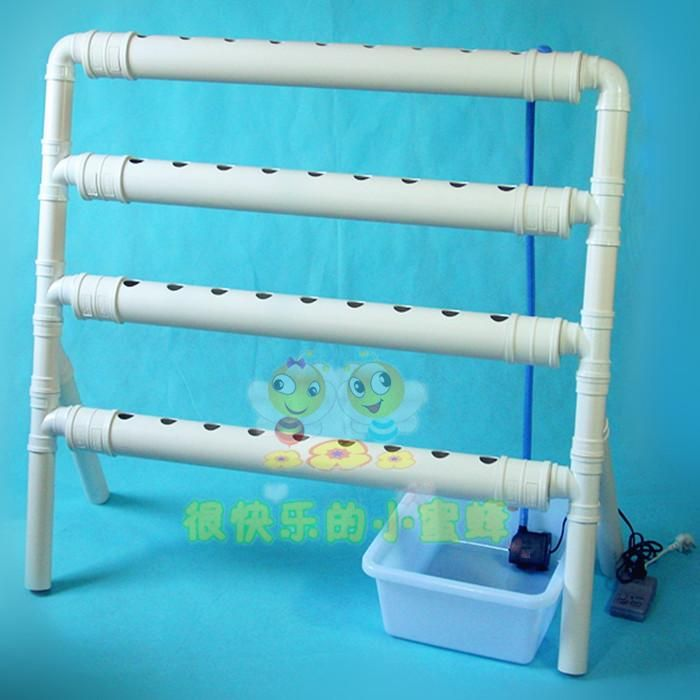 Basin of soilless cultivation hydroponic balcony of food machine equipment cosmetic garden roof  Soilless culture  Family garden-inFlower Po...
