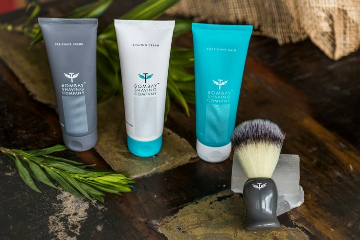 Shaving essentials by Bombay Shaving Co.