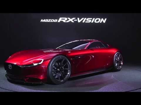 Mazda RX-VISION 360 View movie
