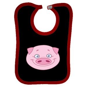 Happy Pig personalized bib $13.99
