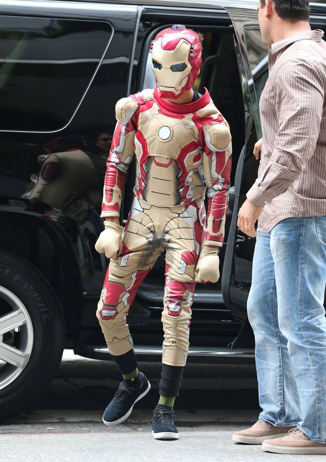 Jaden Smith Iron Man date with Kylie Jenner
