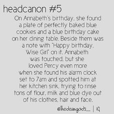 percy jackson headcanon- percy is so sweet