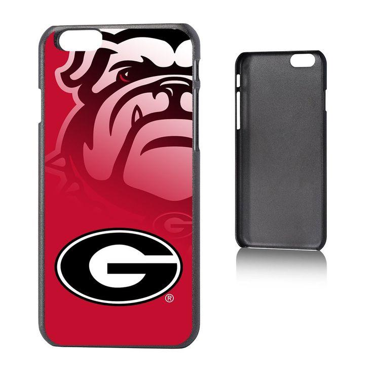 Georgia Bulldogs iPhone 6 Phone Hard Case Durable Plastic NCAA New!!