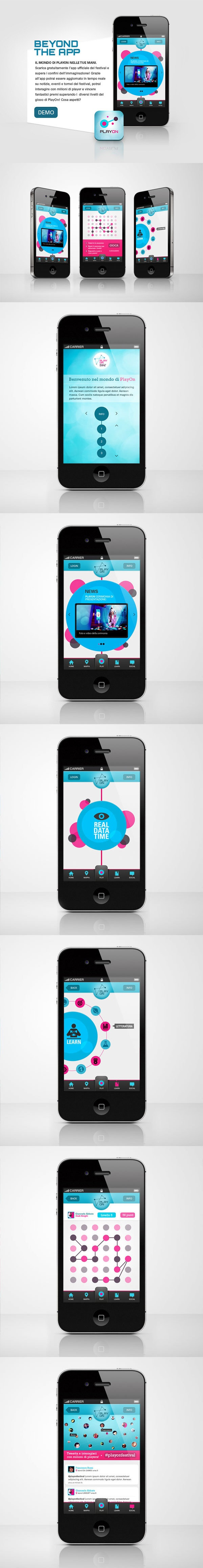Play On - Beyond the Game | #App by Margherita Fortuna, via #Behance #Mobile