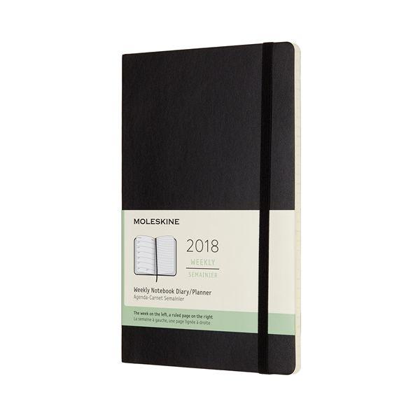 12-Month Weekly 2018 Planner - Soft Cover - Moleskine Online Store - Moleskine